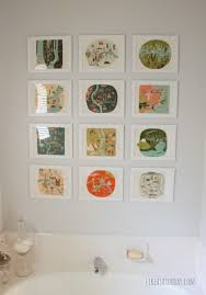 would you ever display eye catching artwork in your bathroom do you already have art hanging on your bathroom walls