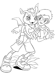 Small Picture Joe Digimon Coloring Pages Cartoon Coloring pages of