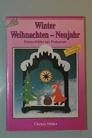 Winter Fensterbilder Aus Tonkarton Kinder Basteln Eur 100