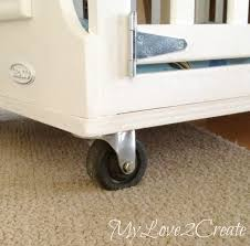repurpose furniture dog. MyLove2Create: Repurposed Furniture Turning A Crib Into Dog Crate Repurpose