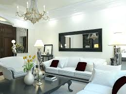 mirror wall decor ideas for living room long decorating luxury modern decoration