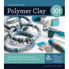 a signed copy of polymer clay 101 book dvd