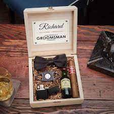 7111 drake blackout cigar crate groomsmen gift box set jpg