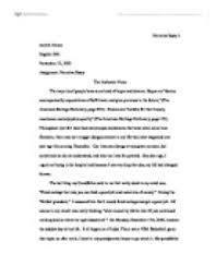 narrative essay the authentic voice university linguistics  page 1 zoom in