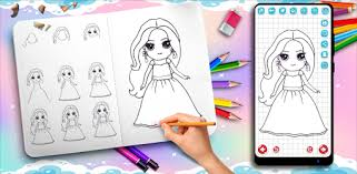 Learn to Draw <b>Cute Girls</b> - Apps on Google Play