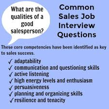 Common Marketing Interview Questions Sales Interview Answers To Typical Sales Interview Questions