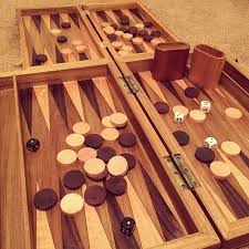 How To Make Wooden Games How to Make a Wooden Backgammon Board 100 Steps with Pictures 13