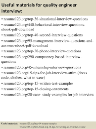 12 useful materials for quality engineer resume format for quality engineer