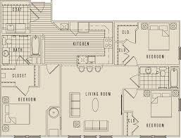 luxury apartment floor plans 3 bedroom. Exellent Bedroom 3 Bedroom For Luxury Apartment Floor Plans