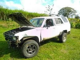 Used Car | Toyota 4Runner Costa Rica 1984 | Toyota Four Runner 22r