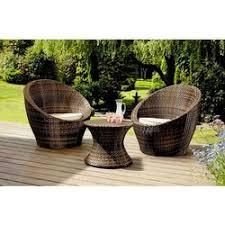 wood rattan outdoor patio garden