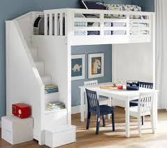 kids loft bed with stairs. Beautiful With Alternate View   To Kids Loft Bed With Stairs Pottery Barn
