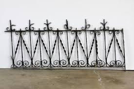 wrought iron fence victorian. Victorian 19th Century French Wrought Iron Fence Railing Fragment For Sale Wrought Iron Fence Victorian