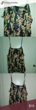 Torrid <b>Floral Zebra</b> Spaghetti Strap Top 3x Torrid Womens <b>Floral</b> ...