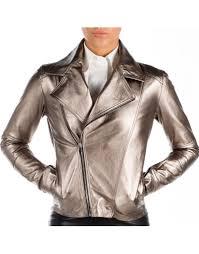 tania leather jacket gold loading zoom