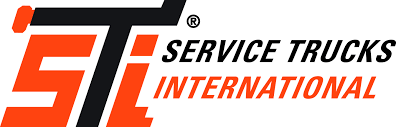 service trucks builder of high quality crane service lube bodies logo sti logo