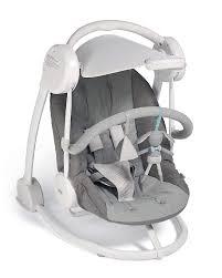 Baby Swing With Light Canopy Mamas Papas Starlite Baby Swing Grey Melange Amazon Co