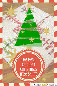 The Best Quilted Tree Skirts: 15 Christmas Quilt Patterns - Seams ... & quilted tree skirts ' Adamdwight.com