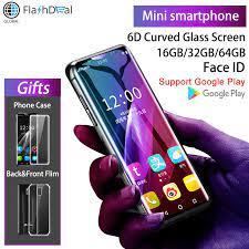 K Cảm Ứng I10 Siêu Mini 4G Di Động Điện Thoại Google Play Quad Core  3.46Inch Màn Hình Cong Điện Thoại Thông Minh 3GB 64GB Android 8.1 Điện Thoại  Di Động|Cellphones