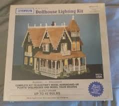 dollhouse lighting. Elect-A-Lite Dollhouse Lighting Kit E-142 Tiffany Lamp Train 42 Bulbs