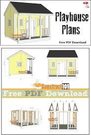 diy playhouse plans free luxury simple playhouse plans diy playhouse plans free unique playhouse plans pdf construct101