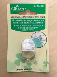 Clover Sashiko Palm Thimble for sewing quilting needlepoint & Like this item? Adamdwight.com