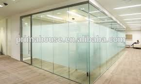 interior office partitions. Aluminum U Channel Frame Tempered Glass Partitions Interior Partition Wall Office