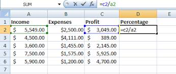 Profit Spreadsheets How To Calculate Profit In Excel And Track Your Expenses