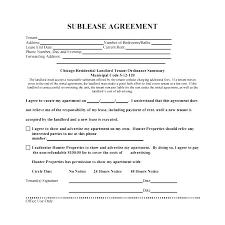 Sublease Agreement Samples Commercial Sublease Agreement Template Spacewatch
