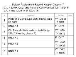 biology assignment record keeper chapter ch bark quiz and 1 biology assignment