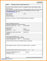 Unique Osha Form 301 Incident Report Models Form Ideas
