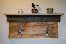 Coat Rack Shelf Diy Diy Rustic Pallet Shelf And Coat Rack 100 Pallets Coat Rack Shelf 78