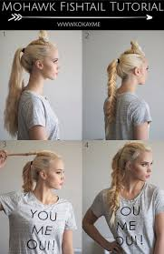 Viking Hairstyle Female best 25 viking hair ideas womens faux hawk edgy 5191 by wearticles.com