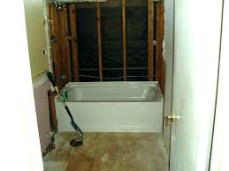 cost to install shower valve how to install a new bathtub popular installation cost furniture elegant cost to install