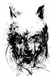 wolf face black and white.  Black Image 0 Intended Wolf Face Black And White F