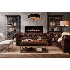 Brown leather living room furniture Old English Tap To Change Lexington Sofa Lexington Sofa American Signature Furniture Leather Living Room Furniture American Signature