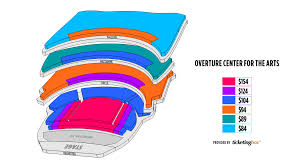True To Life Overture Hall Seating Chart Overture Hall
