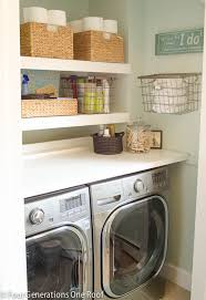 Living Room Closet Ideas Magnificent 48 Small Laundry Room Ideas