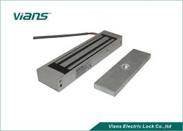 12v 600lb hanging mounted electromagnetic gate lock for sliding glass door long lifespan