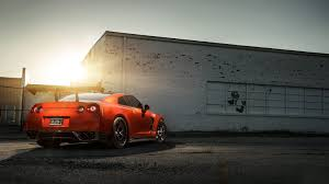 car vehicle nissan nissan gtr red cars sports car nissan gt r coupe wheel supercar land