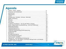 Sauter — ist der familienname folgender personen: Agenda Zahlen Daten