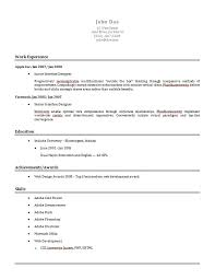 Resume Maker Template