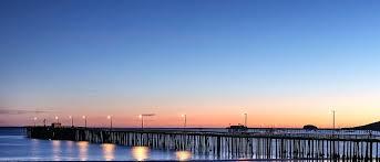 ocean landscape pier sunset water ocean landscape scenic sky ocean to outback australian landscape paintings