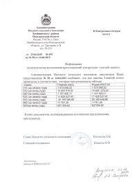 Официальный сайт администрации Песского сельского поселения  В контрольно счетную палату