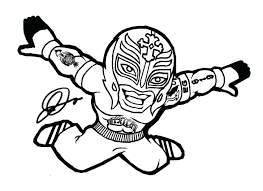 Coloring Pages Odd In Wwe The Shield 2016