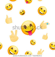 emoji faces wallpaper. Unique Emoji Emoji Wallpaper Emoticons Seamless Pattern Faces And Emoji Hand  Icons On White Background Intended Faces Wallpaper