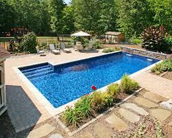 image of small fiberglass pools inground best type of inground pool g1