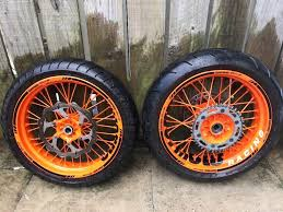 ktm supermoto wheels ktm exc 125 250 300 350 450 500 in seaham