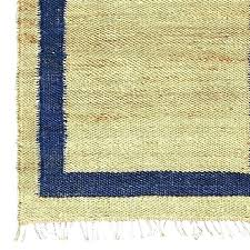 lohals rug jute navy border reviews ikea review