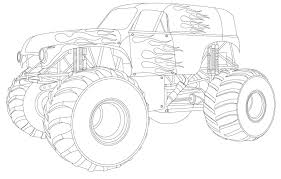 Grave Digger Coloring Pages Best Of Monster Truck Coloring Pages